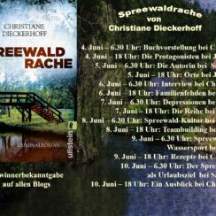 """Gewinnspiel-Auslosung zur Blogtour: """"Spreewaldrache"""" von Christiane Dieckerhoff"""